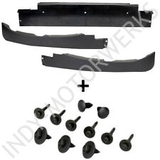 CORVETTE FRONT AIR SPOILER DAM COMPLETE KIT WITH HARDWARE C6 05 THRU 13 NEW