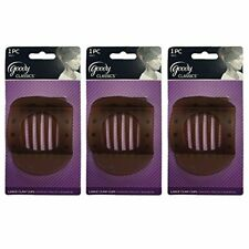 Pack Of 3 Womens Classics Large Updo Claw Hair Clip Perfect Goody New