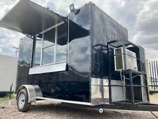 7x12 New Concession Food Trailer. Custom Trailers Manufacturer 7x10, 8x14, 8x16