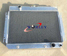 FOR 3 ROW Chevy Impala L6 V8 63-68/El Camino 66 67 Aluminum Radiator