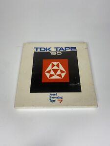 "TDK 150  7"" REEL TO REEL TAPE (NEW SEALED) 1800 Ft 555m"