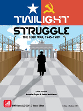 GMT Games Board Game Twilight Struggle Deluxe 2015 Edition (New)