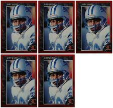 (5) 1992 Legends #59 Barry Sanders Football Card Lot Detroit Lions