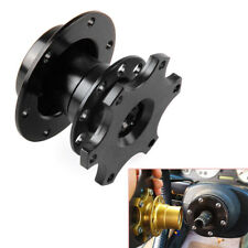 Auto Car Steering Wheel Quick Release HUB Racing Adapter Snap Off Boss Kit Solid