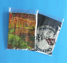 "200 10x12"" Clear Poly Bags 1-Mil Plastic Baggies Packaging for T-Shirt Apperal"