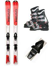 140CM HEAD STAR LINK SKIS + TYROLIA BINDINGS + NORDICA BOOTS 25.5 7 8 9 PACKAGE