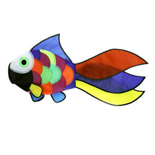 Rainbow Fish Kite Windsock Outdoor Garden Decor Kids Line Laundry Fun Toy