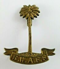 WW2 Royal West African Frontier Force Officers Cap Badge