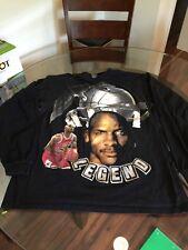 Vintage Chicago Bulls Michael Jordan Black Legend Long Sleeve T-Shirt XL