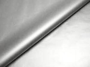 48 SHEETS~METALLIC SILVER TISSUE PAPER~QUALITY GIFT WRAP~ANNIVERSARY~DIY~20x30