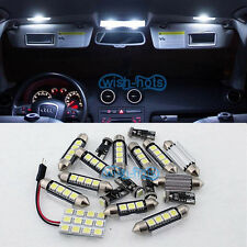 White 12 Lights SMD Error Free LED Interior Package FIT VW GOLF MK6 VI Golf 6