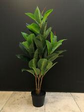 Ficus elastica 70cm artificiales de goma árbol indio Ficus árbol de arte