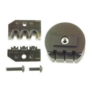 1 x TE Connectivity ERGOCRIMP Series, Crimp Die Set, Standard Power Timer