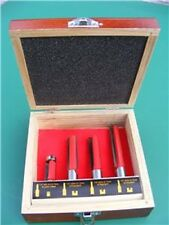 4pc TCT ROUTER BIT SET FOR KITCHEN WORKTOP AND JIG TOOL
