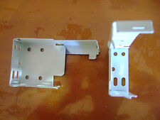 VENETIAN BLIND BRACKET SET 2 ENDS AND 1 MIDDLE WHITE