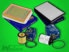 SERVICEPAKET OPEL ASTRA H 1,9 CDTI Luftfilter Pollenfilter Ölfilter Dieselfilter