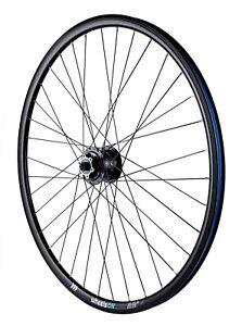 700c  wheelsON 28 inFront Wheel Shimano Dynamo Hub Disc Brake DH-3D32-QR Black