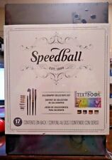 NEW!! Speedball 17pc Calligraphy Collector's Set in Wood Case (0635)