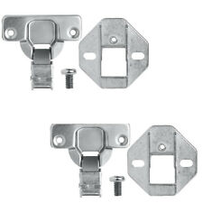 2X HOTPOINT INTEGRATED WASHING MACHINE DOOR DECOR CUPBOARD HINGE REPLACEMENT