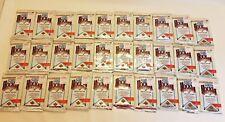 Lot of Upper Deck High Series 1991-1992 NHL - LNH Hockey 30 Sealed Packs