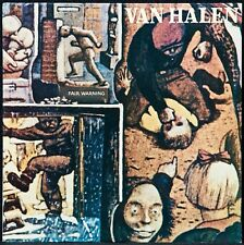 VAN HALEN~RARE SEALED LP~FAIR WARNING~1981~USA PRESS-OOP~RCA CLUB
