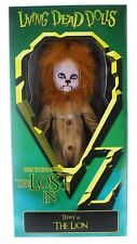 "Living Dead Dolls Lost In Oz Teddy as The Lion 10"" Doll"