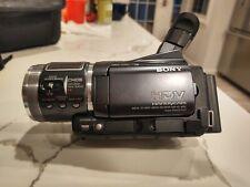Sony Hdr-Hc1 1080i Hd MiniDv Camcorder - Works Great! Transfer Videos!