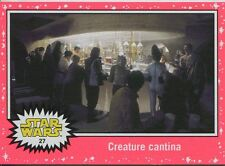 Star Wars JTTFA Neon Parallel Base Card #27 Creature cantina