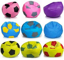 Fußball Sessel 90l Sitzsäcke Bodenkissen Beanbag Fußballfans  Kindersitzack