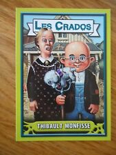 Image * Les CRADOS 3 N°102 * 2004 album card Sticker FRANCE Garbage Pail Kid