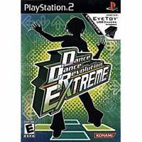 Dance Dance Revolution: Extreme DDR PlayStation 2 PS2 Complete *CLEAN VG