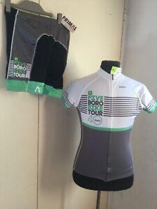 Primal Womens Cycle Shorts Jersey Race Cut Set New York Triathlon Women's Large