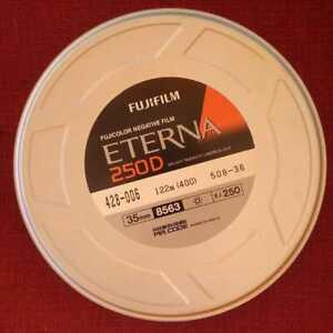 Fujifilm Eterna 250D Motion Picture Film 35MM 400FT SEALED BULK