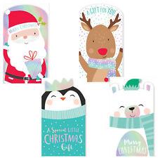 Christmas Money Wallet & Envelope Pack of 4 - Cute Design