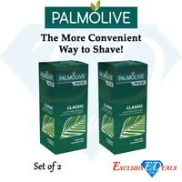 Palmolive Men Classic Palm Extract Shave Stick Keeping Smooth Soft Skin 50g x 2