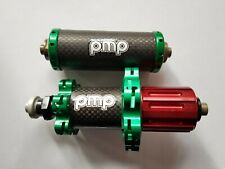New  PMP Road Bike Carbon Front and Rear Hub Set Shimano 11 S Green