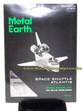 Fascinations Metal Earth Space Shuttle Atlantis Laser Cut 3D Model New
