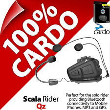New Cardo Scala Rider Qz (Single) Bluetooth Motorcycle Helmet Intercom Headset