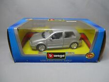 AL640 BURAGO 1/24 VOLKSWAGEN VW GOLF METAL REF 0110 BON ETAT