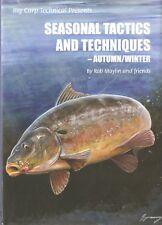 MAYLIN ROB COARSE FISHING BOOK SEASONAL TACTICS AUTUMN WINTER CARP hardback NEW