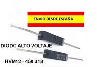 DIODO HVM12 450 318 ALTO VOLTAJE RECAMBIO ELECTRONICA ELECTRICIDAD INDUSTRIA