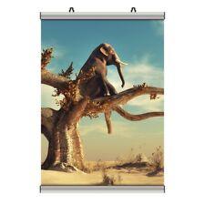 Surrealismus Abstrakt Elefant Wandbild inkl. Posterleisten PL0206