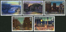 Jersey 275-279,MI 257-261,MNH.Gas light, 150th ann.Harbor,Quay,Royal Square,1981