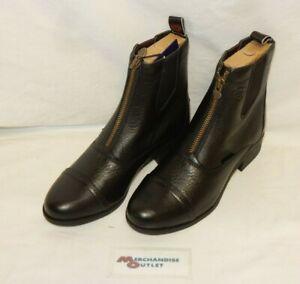 Ariat Women's Boots - Heritage Breeze Zip Paddock - Size 7.5 (Black)
