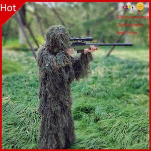 3D Ghillie Suit Sniper  Leaf Jungle Forest Wood Camouflage for Kids Game TD