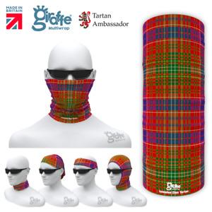 Lumsden Clan Scottish Tartan Multifunctional Headwear Neckwarmer Bandana