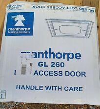 MANTHORPE GL260 PUSH-UP LOFT ACCESS DOOR WHITE 562 X 562MM. New in Box