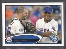 2012 Topps Update Baseball - #US220 - Adrian Beltre - Texas Rangers