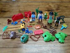 Playmobil Horse Stable Figure Lot Accessories Kids Pieces Lot Brushes + More