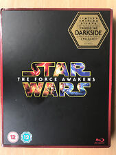 Star Wars The Force Awakens 2015 Rare Region Free UK Blu-ray with Slipcover